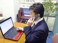 3 電話営業のイメージ